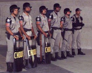 Opprorspolitiet i Brasil